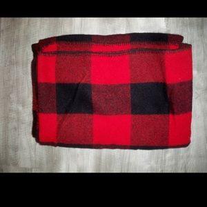Vtg Marlboro Country Store Buffalo Wool Blanket